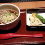 39900504 - 冷たいお蕎麦と天ぷら