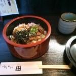 うなぎ 和食処 田 - ミニ鰻丼