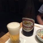 侘家古暦堂 - 取り敢えずのビール