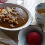 二の丸 - 玄米カレー(¥400税込み)
