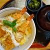 粋旬 - 料理写真:ランチ海老とじ丼(¥500税込み)