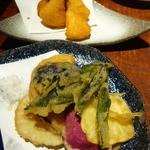39910051 - 加賀野菜の天ぷら、カマンベールチーズフライ