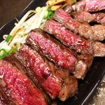 39910382 - 牛肉の鉄板焼(店主さんに使用許諾済み)