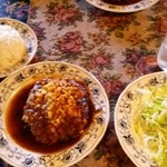 レストラン ツモロ - ハンバーグステーキ:1000円