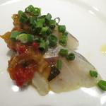 Osteria da K.[kappa]  - 酢じめしたカマスのオイルマリネ