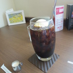 ACカフェ - アイスコーヒーフロート(600円)