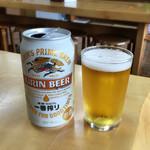 ゑびすや土産店 - 缶ビール(300円)