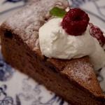 西洋茶館 - チョコレートケーキ