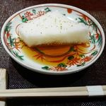 味 竹林 - 料理写真:長芋豆腐