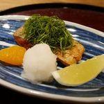 味 竹林 - 太刀魚の焼き物
