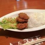 沙羅 - ヒレ・サラダ・ライス