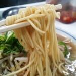 藤 - 麺はもちろん近藤製麺の中細ストレート麺