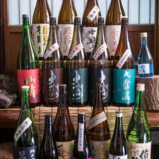 松本の地酒を堪能できます!