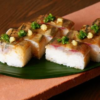 あじのバッテラ寿司