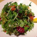 ピアンタ - 料理写真:グリーンサラダ