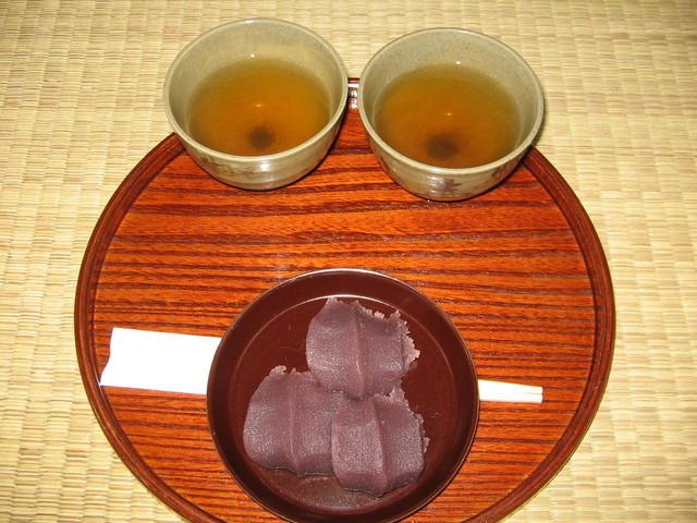 赤福 内宮前支店 - 2008年は250円でした