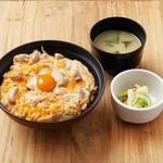 DONBURI & COMPANY - さがみこを「とろとろ親子丼」の1.5倍使用