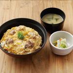 DONBURI & COMPANY - 富士の鶏とブランド卵のさがみっこを使用した逸品