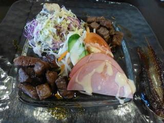 鉄饌 - サイコロステーキA5ランク