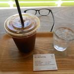 NOZY COFFEE - アメリカンアイスコーヒー¥500