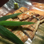 大谷茶屋 - 料理写真:白焼きをあてにお酒もいいですよ!