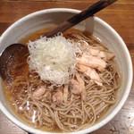 山形蕎麦と炙りの焔蔵 定禅寺通り店 - 冷たい肉そば 大盛