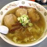 やはた - しおチャーシューワンタンメン_950円