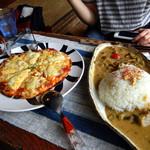 genten - カレーとピザ