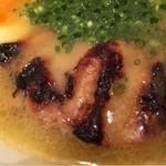 鶏ポタラーメンTHANK お茶の水 - 鶏チャーシュー