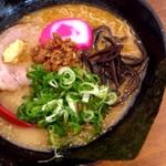 麺屋 海嵐 - みそ880円