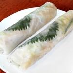 サイゴン - [ここから 2015/6/26] 豚皮と豚肉と野菜入り