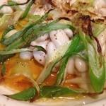 デルソル - 鱈白子とネギのオーブン焼き