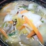 次郎長 - 2015年5月 野菜ラーメン 850円