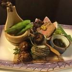 てん花 - 前菜