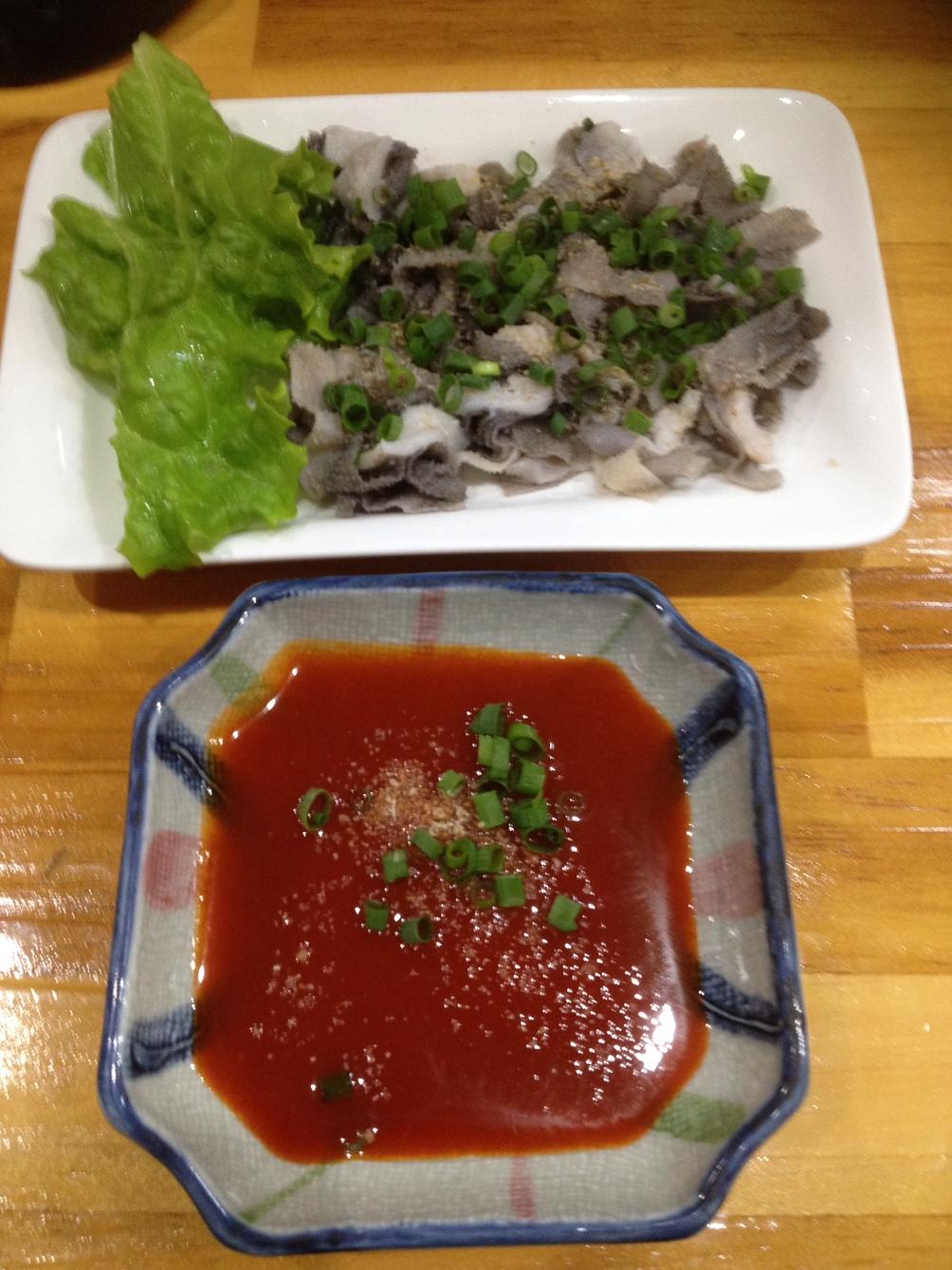 韓国料理と居酒屋 げんき