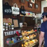 GRANNY SMITH APPLE PIE & COFFEE  - 店内