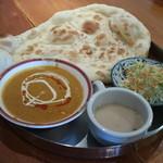 チャンダニ - Aセット、チキンカリー、スープ、サラダ