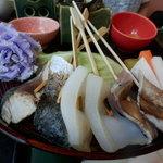39951006 - 館山ご当地グルメ『炙り海鮮丼』1の段