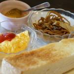 パンプキン - 料理写真:ドリンク代のみの平日モーニング