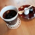 Cafe もりのおとわ - アイス珈琲 セットで300円 2015.07.