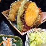 39953051 - 野菜の味が濃い天ぷら