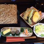 39953058 - もり(6.)と野菜天ぷら(3.)
