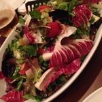 39953531 - ホタテの燻製サラダ