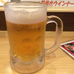 トサカトモミジ - 生ビール・450円