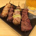 トサカトモミジ - 砂肝、はつ・各60円 、ぼんぢり・90円 、 ねぎ間・100円