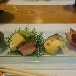 帝釈峡観光ホテル別館養浩荘 - 前菜