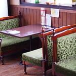 カフェ オリーブ - 1番人気のレトロな席