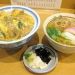 志な乃 - 親子丼+ミニそばセット
