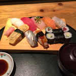 鮨一花 - ランチの寿司定食1000円
