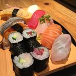 鮨一花 - 寿司定食1000円